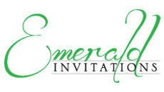Emerald Invitations