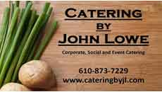 Catering by John Lowe
