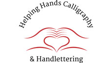 Helping Hands Calligraphy